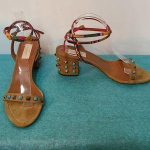 Valentino Garavani Lace Up Sandals